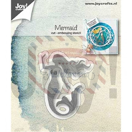 Fustella metallica Joy! Crafts Cutting & Embossing Mermaid