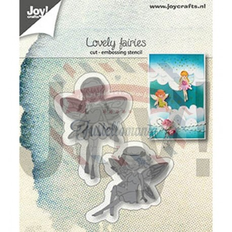 Fustella metallica Joy! Crafts Cutting & Embossing Lovely Fairies