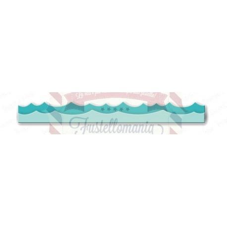 Fustella metallica Oceano mare