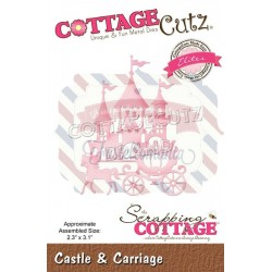 Fustella metallica Cottage Cutz Castle & Carriage (Elite)