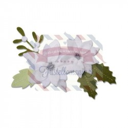 Fustella Sizzix A4 Christmas Foliage by Lisa Jone