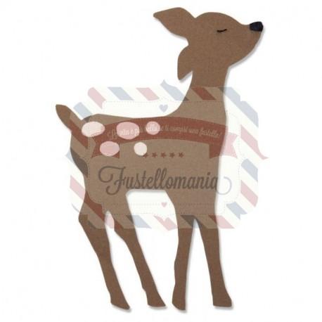 Fustella Sizzix Bigz Retro Deer