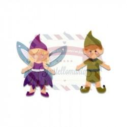 Fustella Sizzix BIGZ L Elf & Fairy
