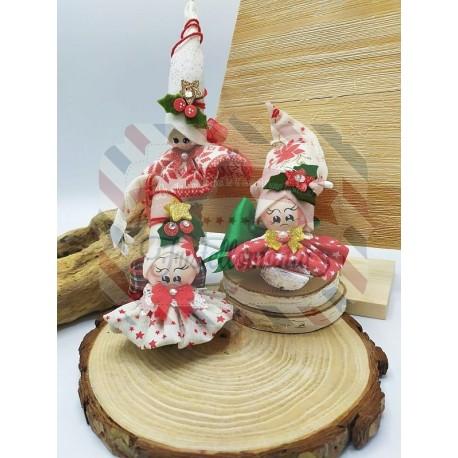 Fustella XL Elfo di Babbo Natale Sasha
