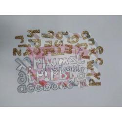 Fustella metallica Alfabeto minuscolo Cut 9