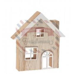 Casetta in legno decorativa 12x11x2 cm