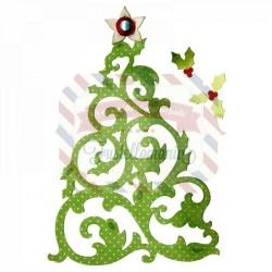 Fustella Sizzix Thinlits Albero di Natale