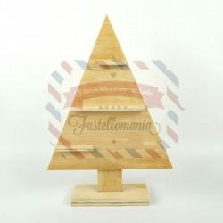 Albero in legno decorativo 45x31 cm