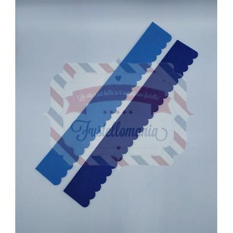 Fustella XL Striscia smerlata per progetti 3D
