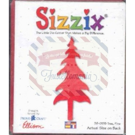 Fustella Sizzix Bigz Albero abete