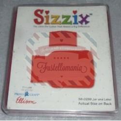 Fustella Sizzix Bigz Bottiglia e etichetta