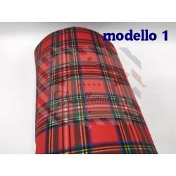 Pannolenci scozzese 50x50 cm. modello a scelta