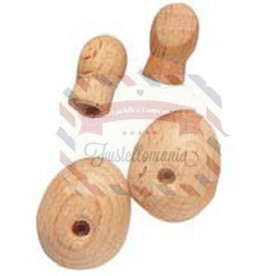 Set mani e piedi di legno 14x16 mm