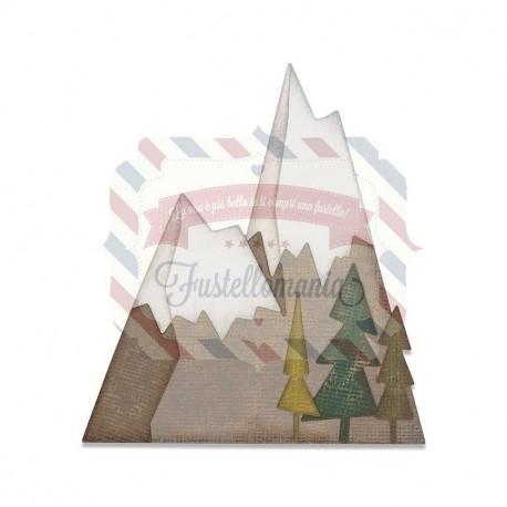 Fustella Sizzix Thinlits set 7pk alpine
