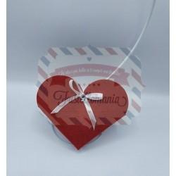 Fustella A4 Scatola a cuore porta cioccolatini