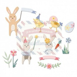 Fustella Sizzix Thinlits Easter celebration