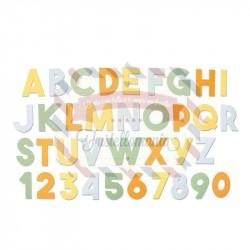Fustella Sizzix BIGz XL Chunky alphabet