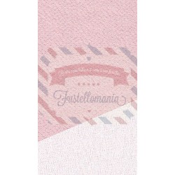 Primette tessuto colore chiffon latte 48x50 cm