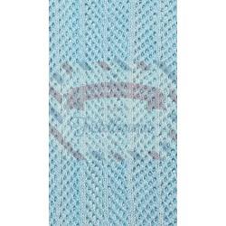 Tubolare barré colore azzurro 50 cm