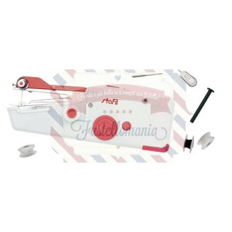 Macchina per cucire portatile a batteria