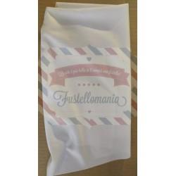 Tessuto per mascherine Crono stoff 50x40 cm bianco