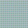 Tessuto 100% cotone 45x50 cm blue floral