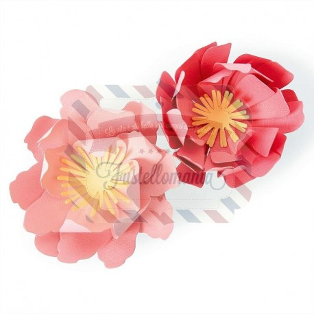 Fustella Sizzix Bigz summer blooms