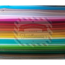 Pannolenci 1mm - 50x60 cm colore selezionabile