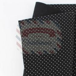 Pannolenci pois 50x45 cm colore nero