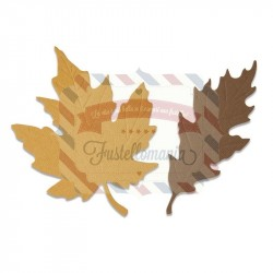 Fustella Sizzix Bigz Autumnal leaves
