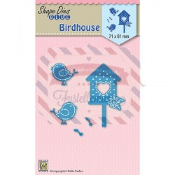 Fustella metallica Nellie's Choice Birdhouse