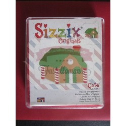 Fustella Sizzix originals House Gingerbread