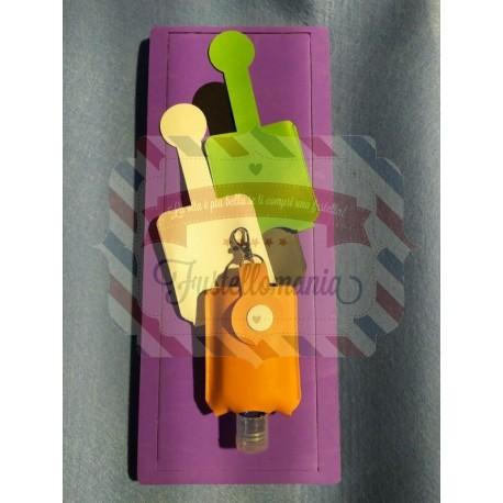 Fustella XL Custodia porta gel da appendere