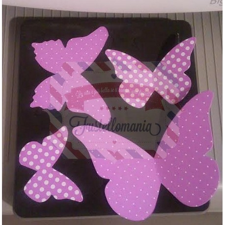 Fustella Sizzix Bigz Stampin UP Beautiful Butterflies