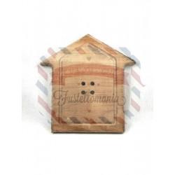 Bottone casetta h29 cm Sbottonati