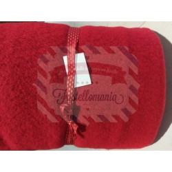Tessuto La Pecorotta colore rosso 35x100 cm