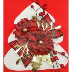Fustellati kit Albero bianco e rosso Natale
