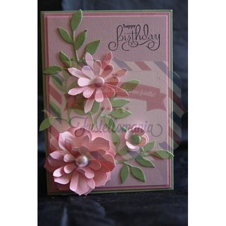 Fustella Sizzix Originals Stampin Up Blossom party Festa di fiori