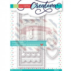 Fustella metallica Slimline cards