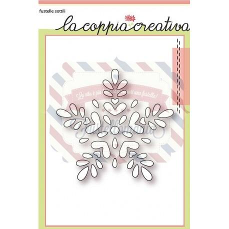 Fustella metallica Fiocco di neve