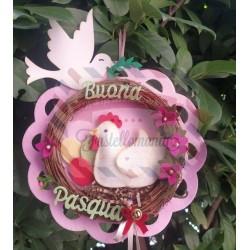 Fustella Gallina con uovo