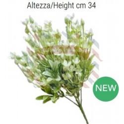 Daisy colore bianco alt. 34 cm