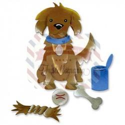 Fustella Sizzix Originals Cane Osso e giochi