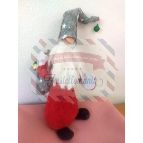 Fustella XL Babbo Natale con sacco