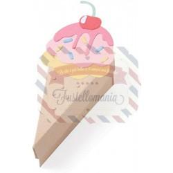 Fustella Sizzix BIGZ L Box ice cream