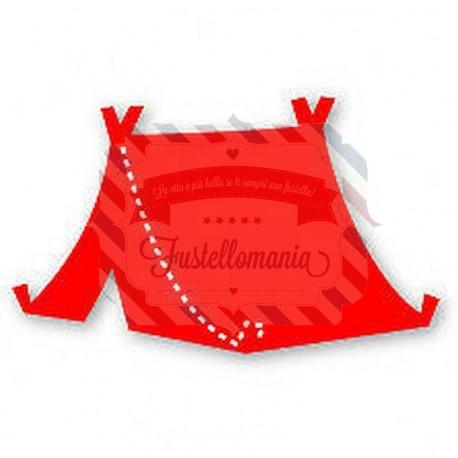 Fustella Sizzix Originals Tenda