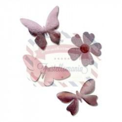 Fustella Sizzix A4 Fantastical Butterflies