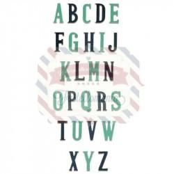 Fustella Sizzix BIGz XL Alphabet Nostalgic