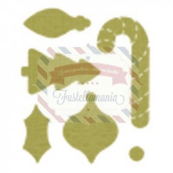 Fustella Sizzix Originals Stampin Up Decorazioni Natale