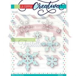 Fustella metallica fiocchi di neve